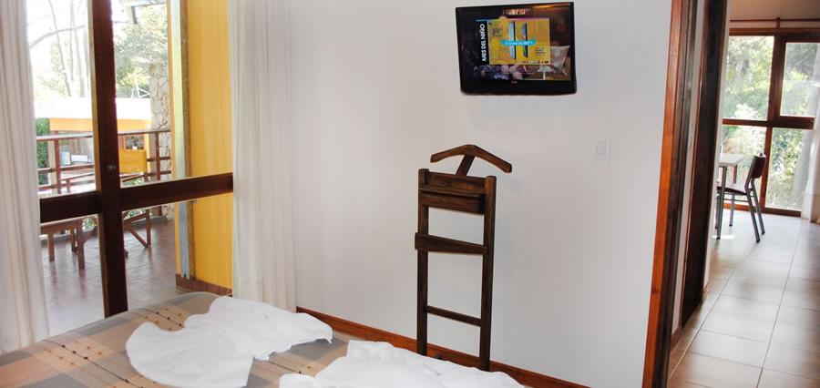 Cabañas de un dormitorio en planta alta (unidades de 60 m2)