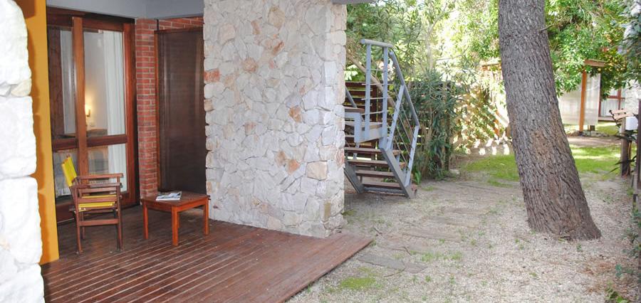 Cabaña de un dormitorio en planta baja (unidades de 60 m2)